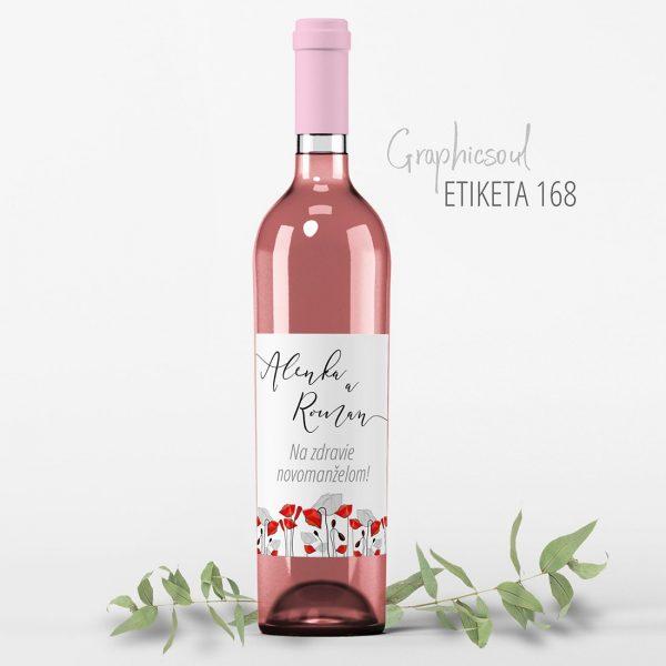 etikety na svadobne vino