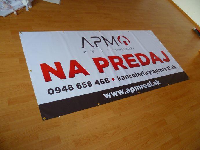 banner na predaj