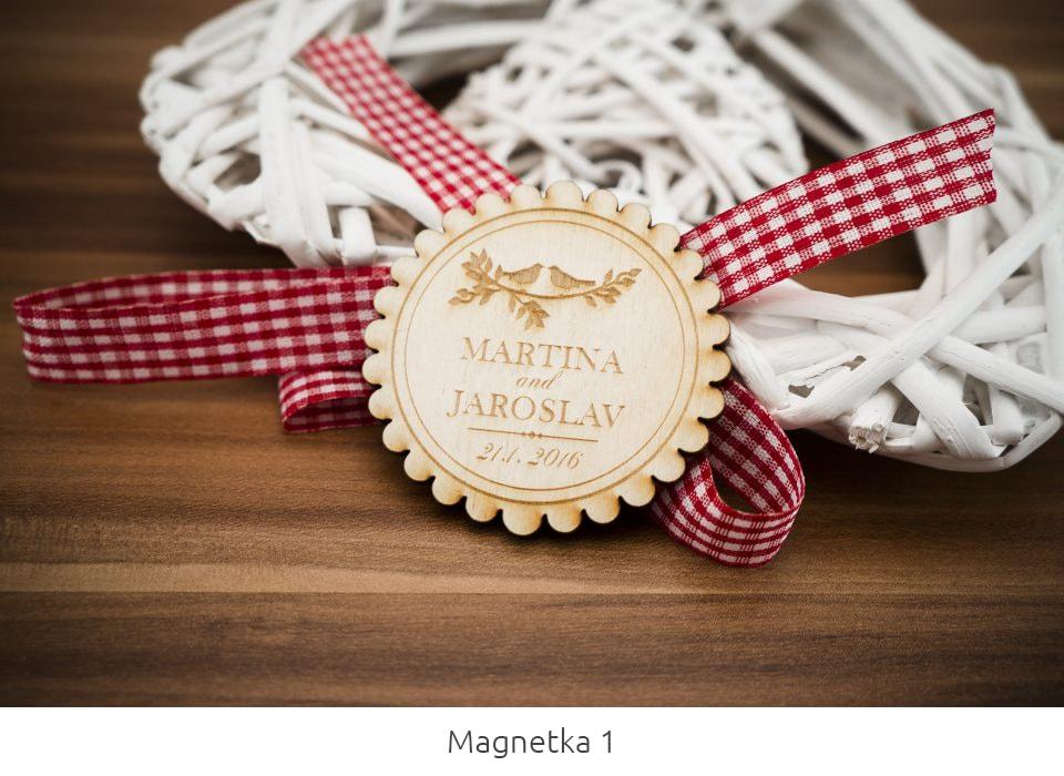 svadobne magnetky
