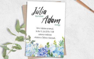 krasne svadobne oznamenia