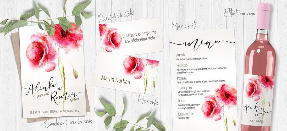 2fb4446929df Svadobné oznámenia a pozvánky na svadbu - Graphicsoul