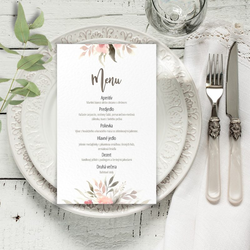 Svadobné menu 137