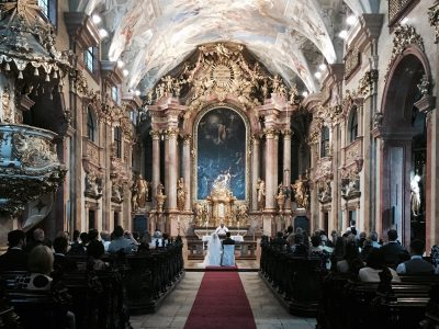 svadba v kostole