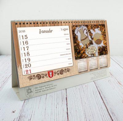 stolny kalendar na mieru