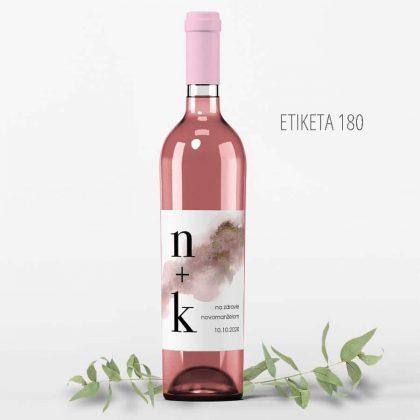 Etiketa na fľašu