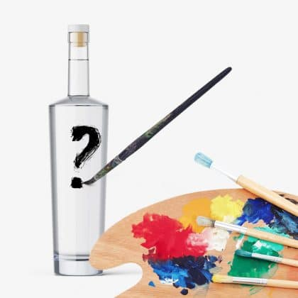 Etikety na alkohol - vlastný návrh